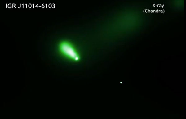 Пульсар IGR J1104-6103