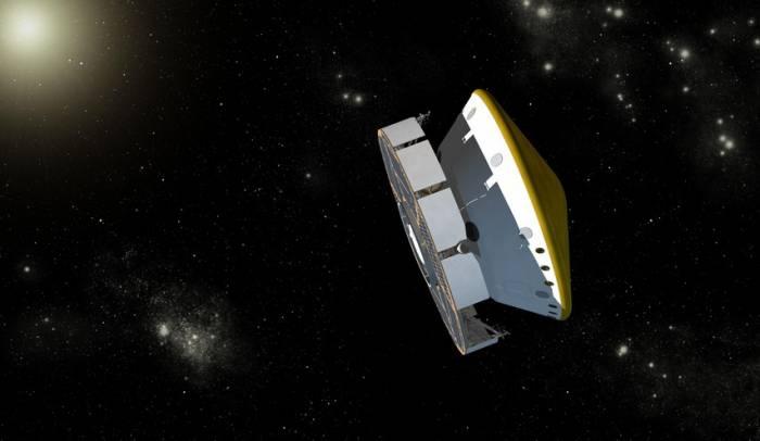 Марсоход «Curiosity» в пути к Красной планете