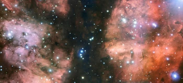 Центральная часть туманности NGC 6357
