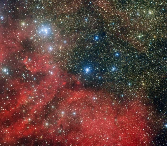 Звездное скопление NGC 6604. Фото ESO
