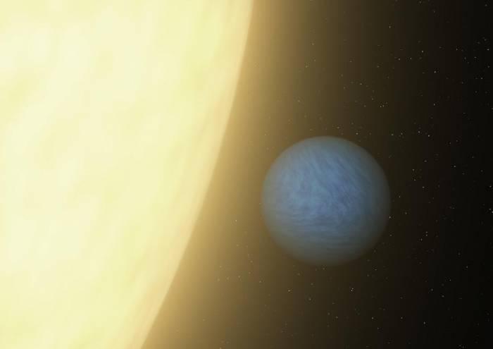 Экзопланета 55 Рака е глазами художника.