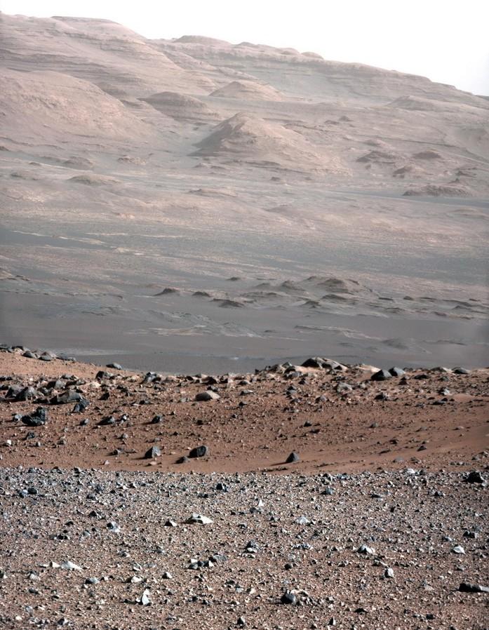 Гора Шарп – фото с марсохода