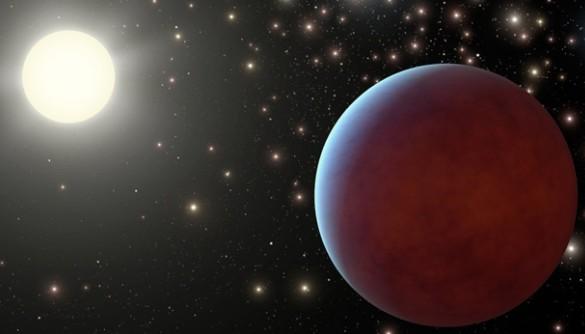 Экзопланета в скоплении Ясли глазами художника.