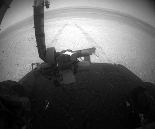 Новая цель марсохода – кратер Гленелг