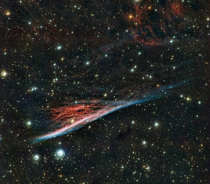 Туманность Карандаш (NGC 2736).