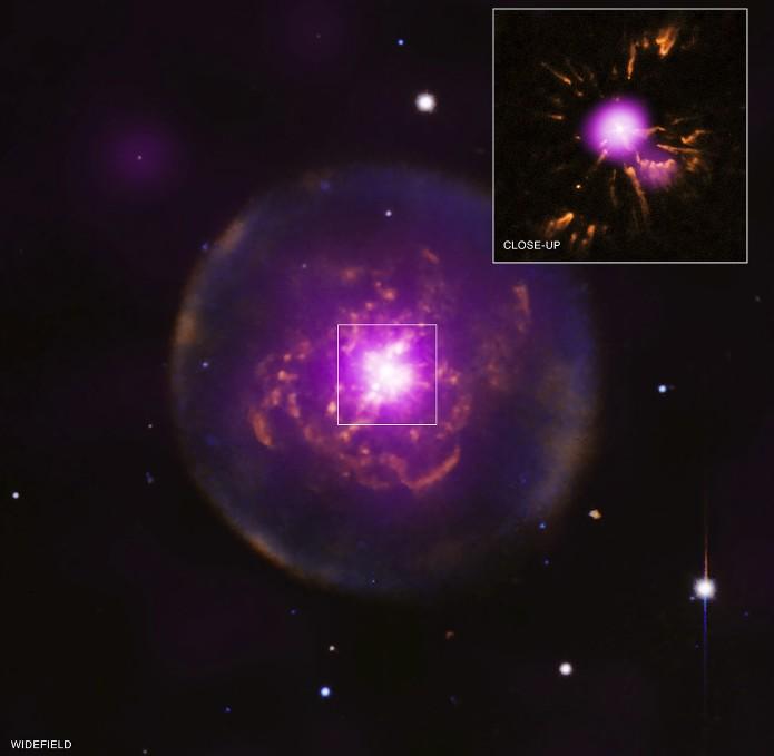 Планетарная туманность Abell 30.