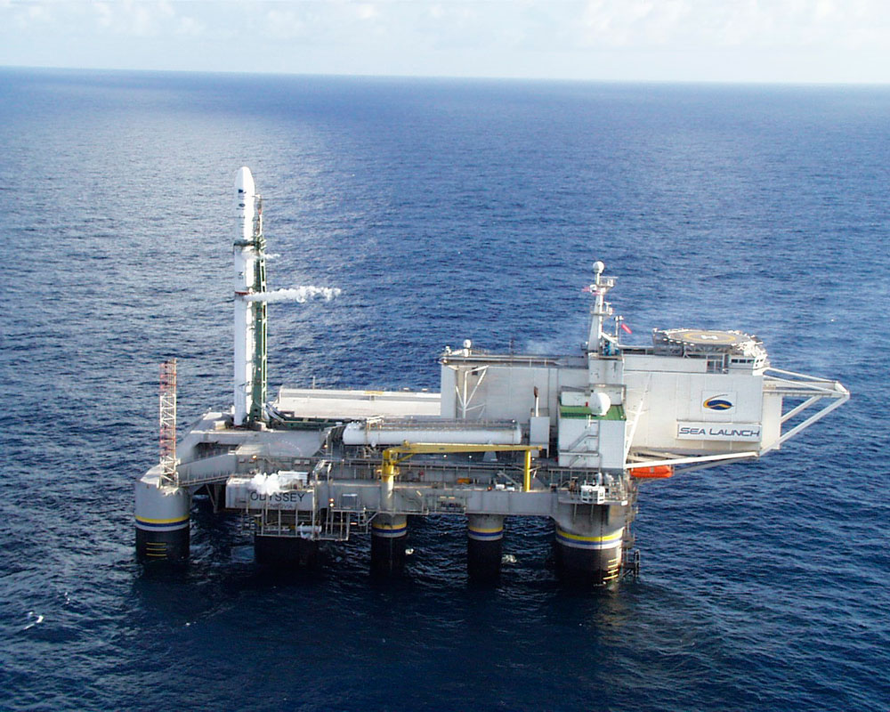 """O projeto de lançamentos de  foguetes """"Partida do mar"""" pode passar para o Brasil"""