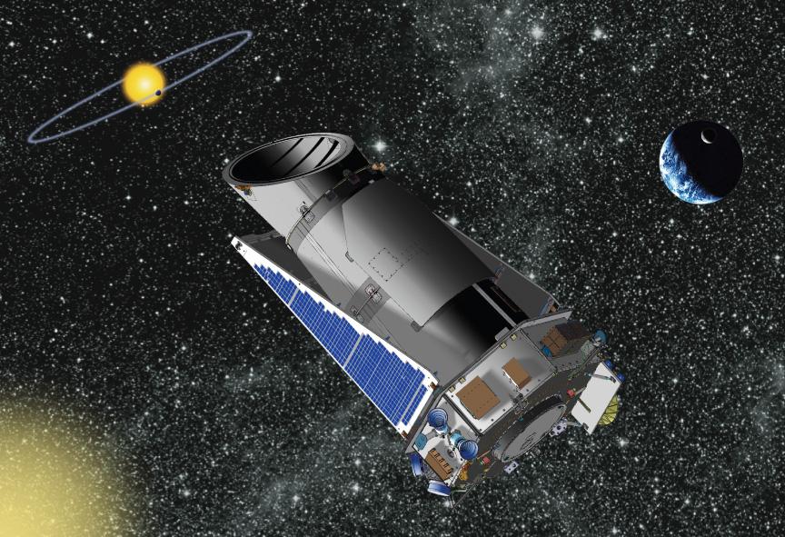 """Космический телескоп """"Кеплер""""."""
