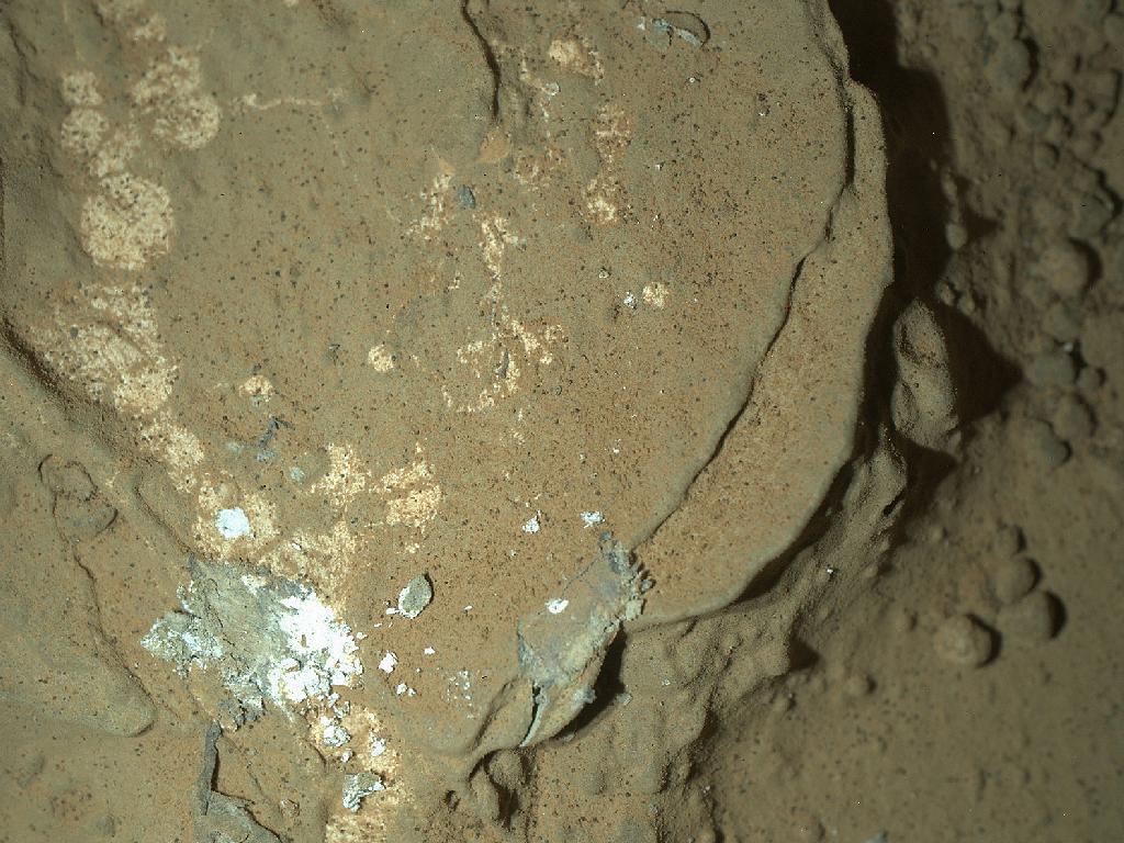 Фотография ночного Марса