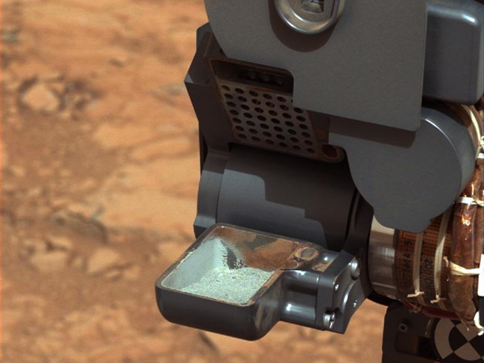 Образцы марсианского грунта получены