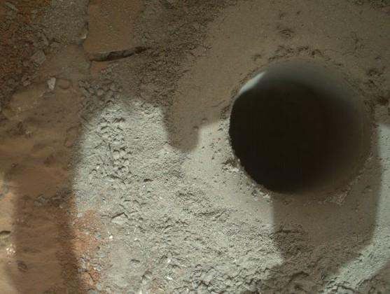Curiosity провел анализ образцов марсианской породы (2 фото)