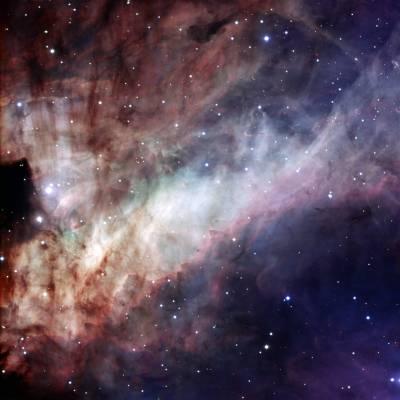 Получена новая фотография туманности Лебедя