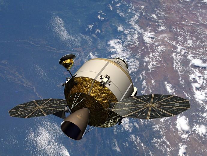 Космический корабль «Орион».