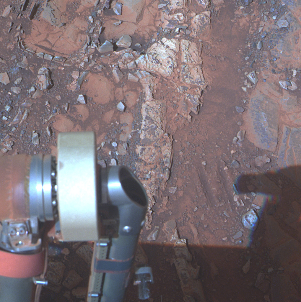 Opportunity исследовал небольшой участок марсианской поверхности