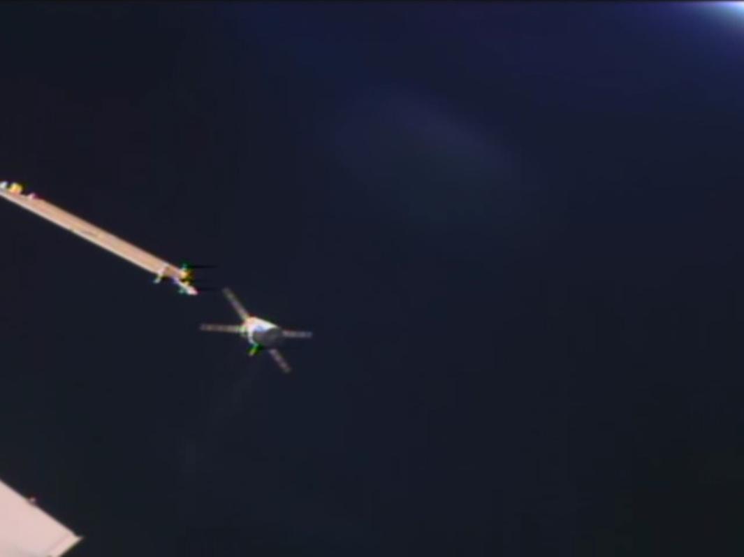 Стыковка космический грузового корабля atv-4 с МКС (онлайн-трансляция) CVAVR AVR CodeVision cvavr.ru