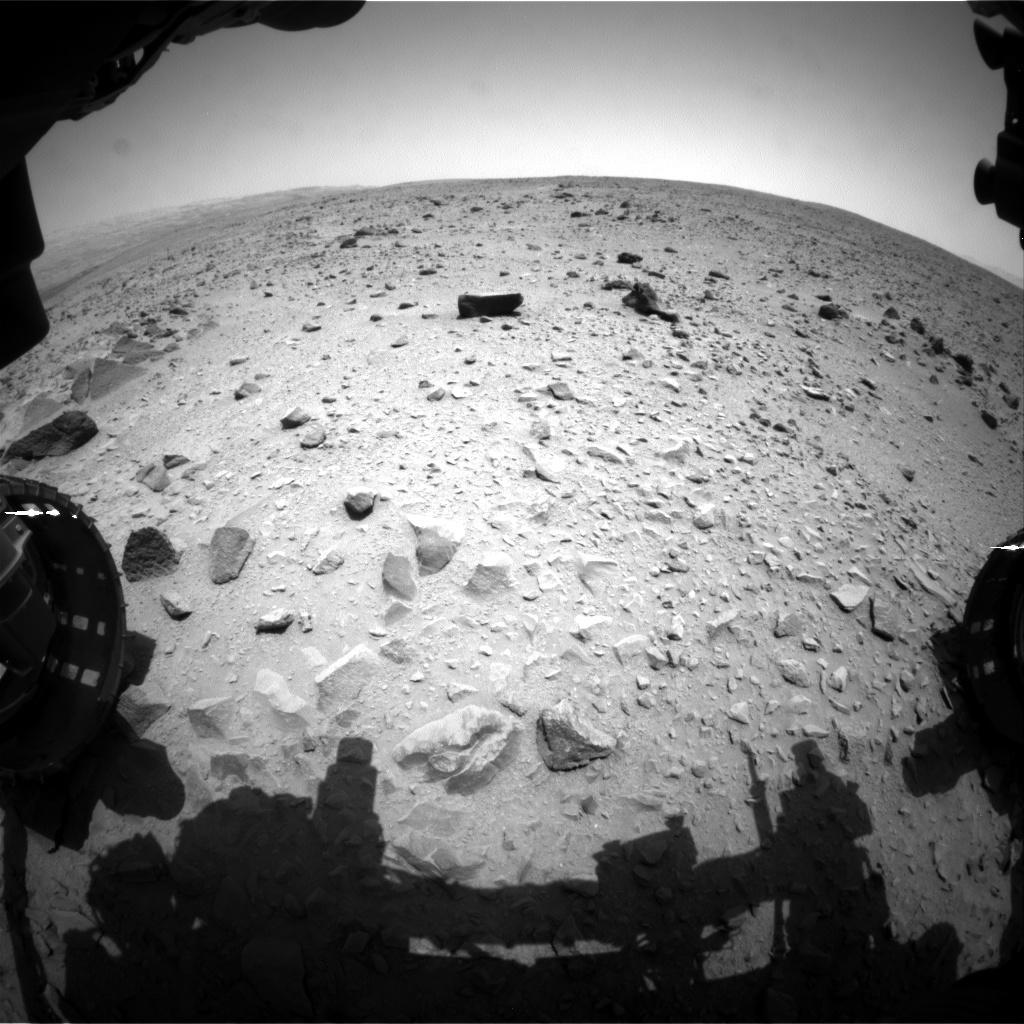 Первый километр со времени посадки марсохода, преодолен