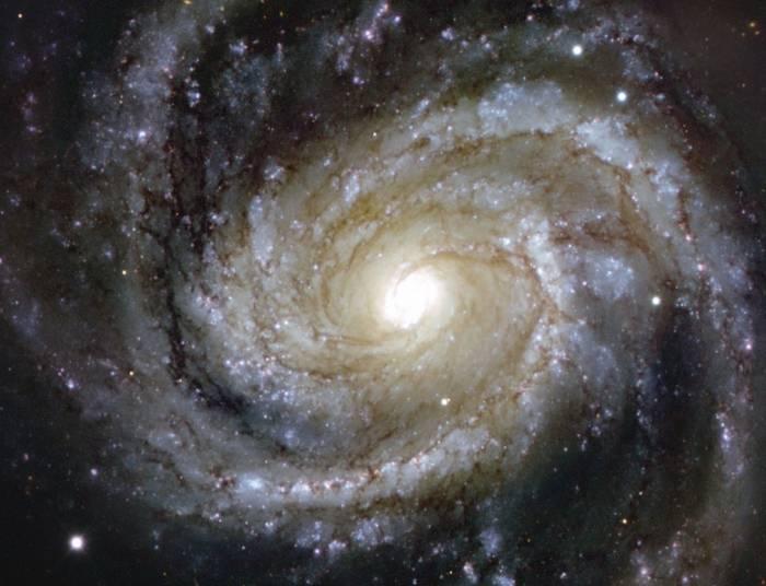 Спиральная галактика M 100 (NGC 4321).