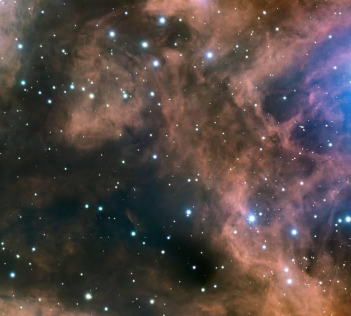 Фрагмент туманности NGC 6357.