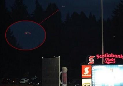 НЛО в Ванкувере