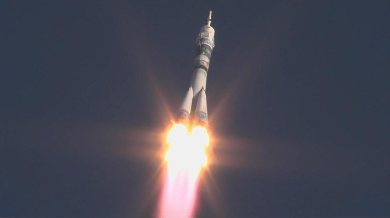 запуск ракеты носитель союз