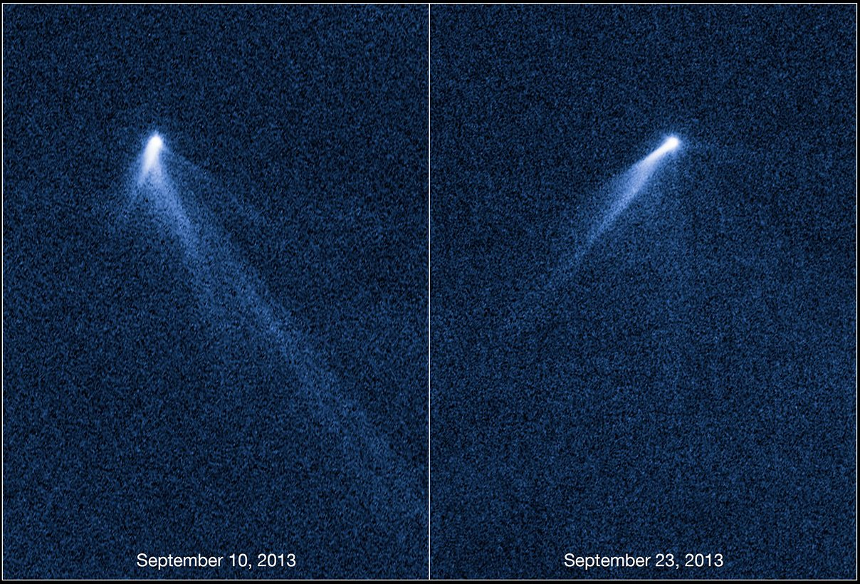 Космический телескоп Хаббл исследовал хвостатый астероид CVAVR AVR CodeVision cvavr.ru