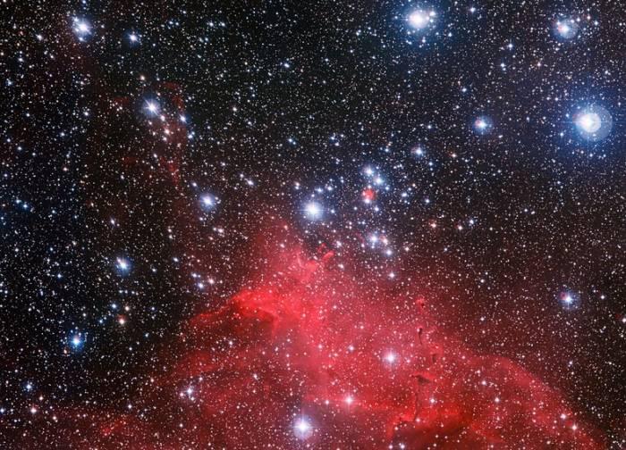 Рассеянное скопление NGC 3572.
