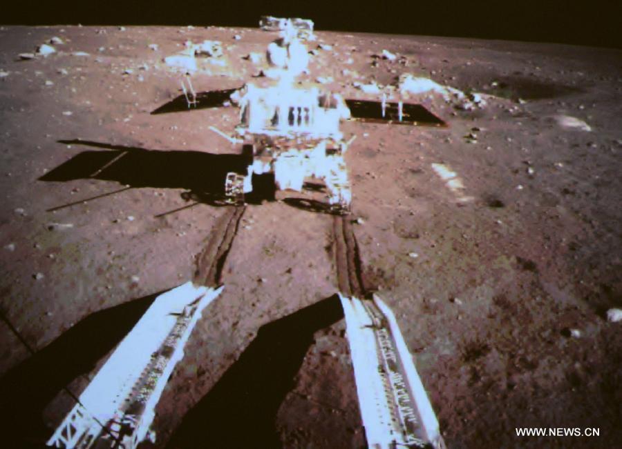 Нефритовый заяц успешно спустился на поверхность Луны CVAVR AVR CodeVision cvavr.ru