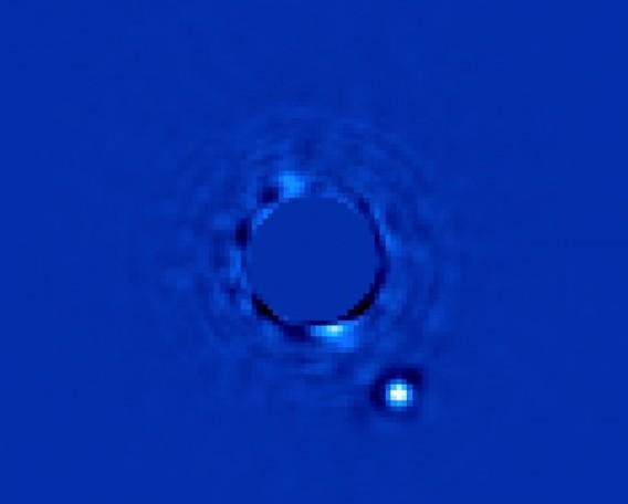 Экзопланета Beta Pictoris b.