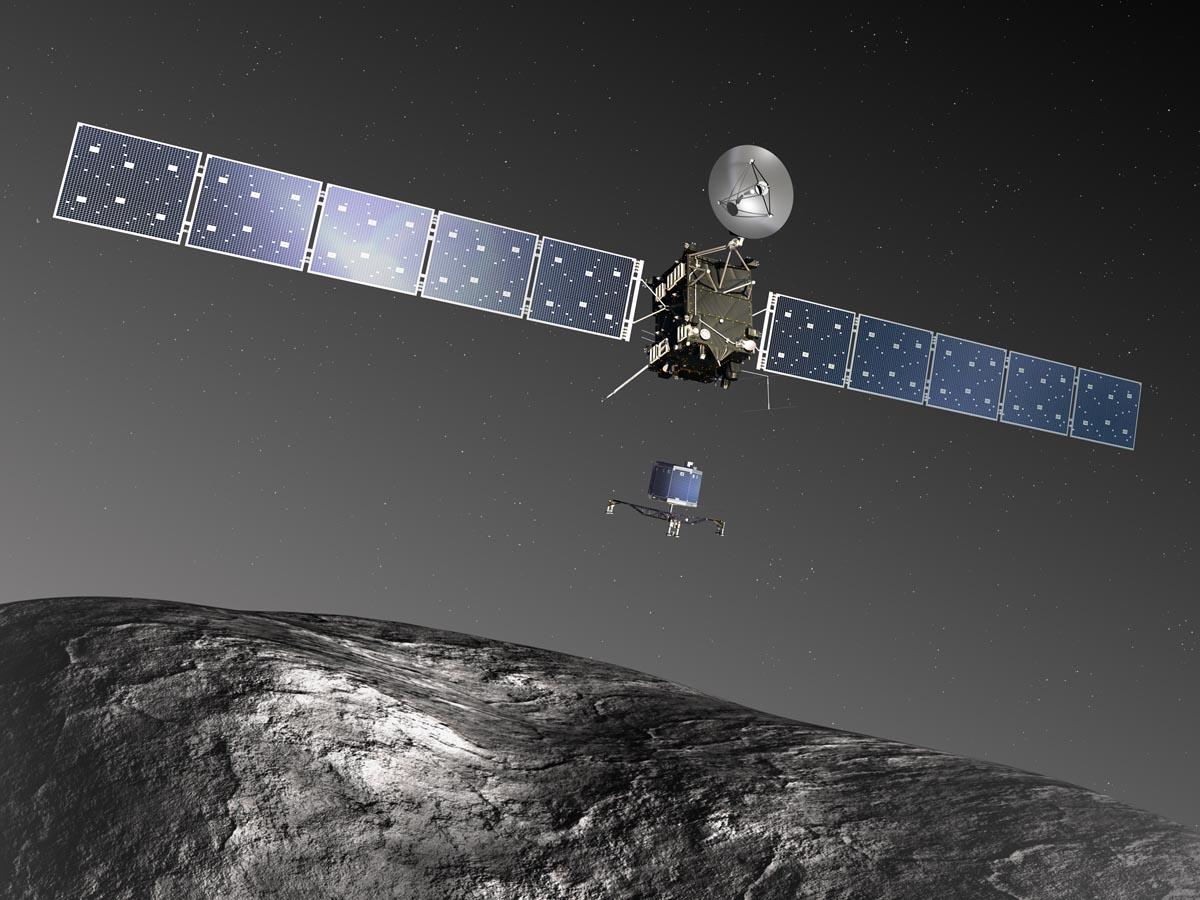 Космический аппарат Rosetta.