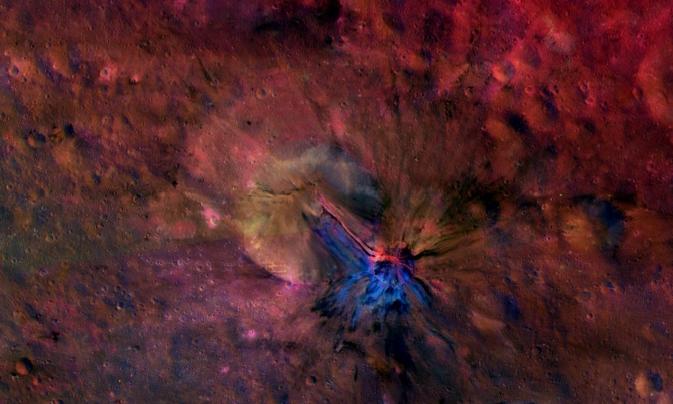 Астероид Веста, новый взгляд.