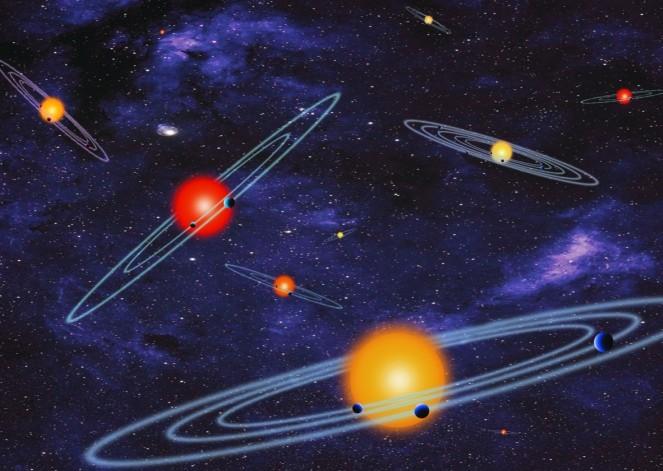Телескоп «Кеплер» ищет планеты транзитным методом.