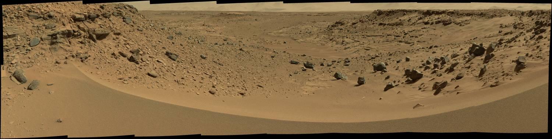 Марсоход curiosity взглянул на долину, по которой скорее всего будет пролегать его маршрут CVAVR AVR CodeVision cvavr.ru