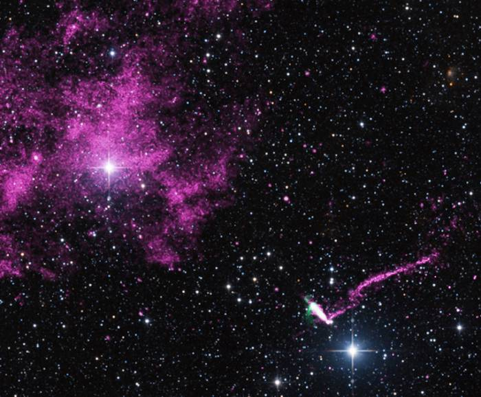 Пульсар IGR J11014-6103.