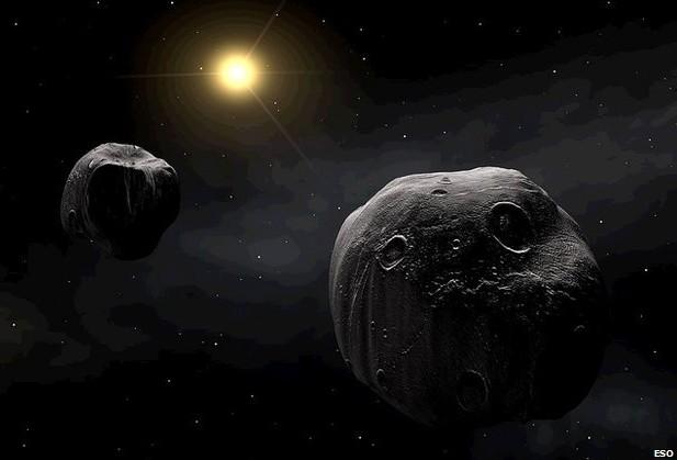 Около 15 процентов астероидов в Солнечной системе состоят из двух частей.