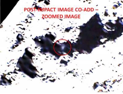 Неуловимые следы лунного шлейфа от столкновения все же обнаружены