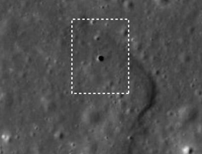 Подземный тоннель на Луне