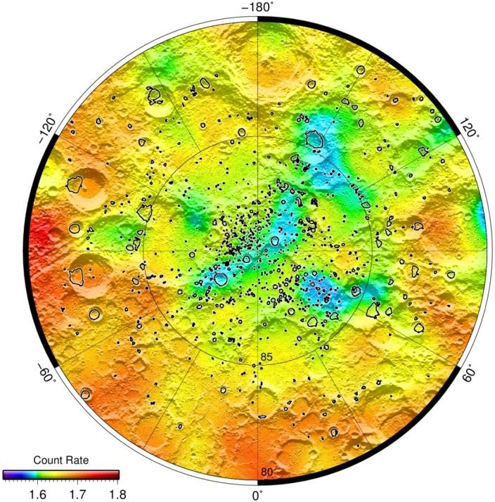 Российский прибор lend, установленный на борту зонда lro, изучает распространение подповерхностного льда на Луне CVAVR AVR CodeVision cvavr.ru