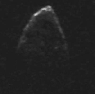 Радарное изображение астероида 1950 DA.