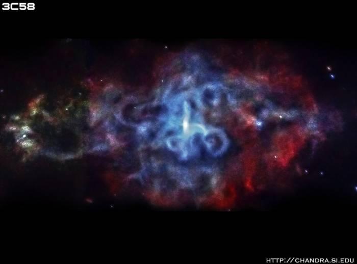 Остаток сверхновой 3C58.