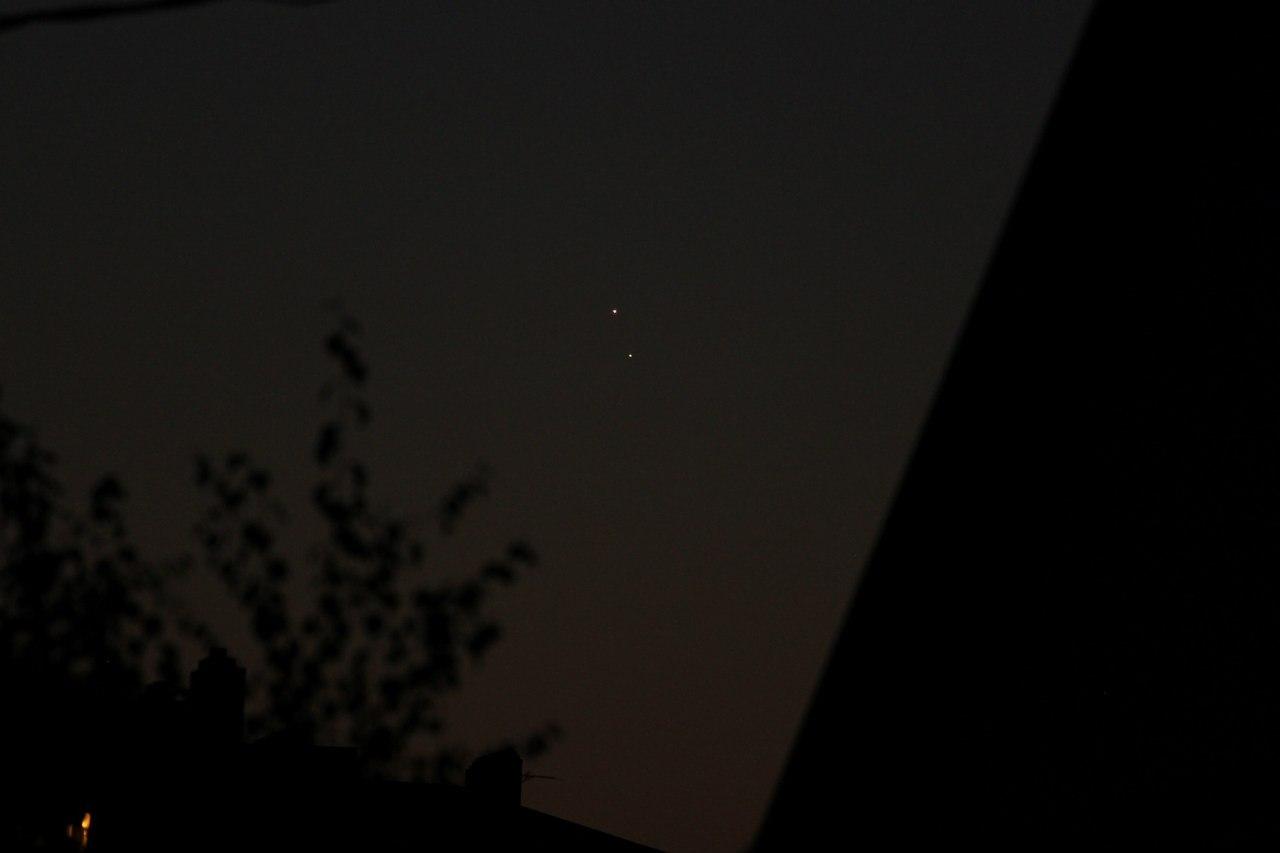 Снимки соединения Юпитера и Венеры со всех концов света CVAVR AVR CodeVision cvavr.ru