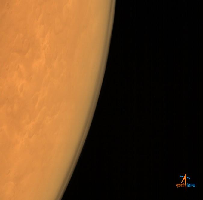 Марс глазами космического орбитального аппарата «Мангальян».