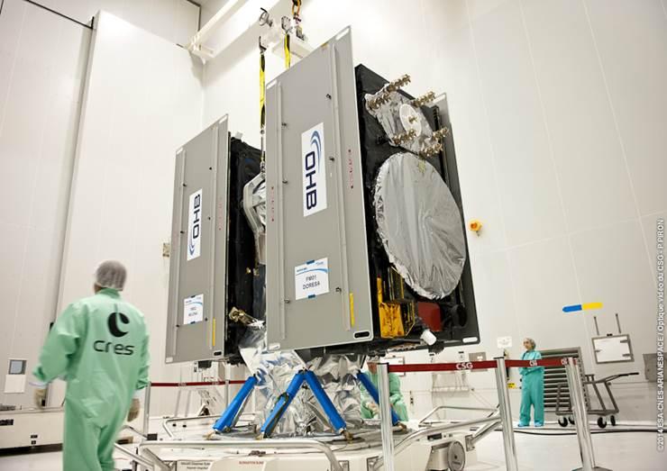 Завтра состоится пуск ракеты-носителя Союз-СТ с европейскими спутниками на борту CVAVR AVR CodeVision cvavr.ru