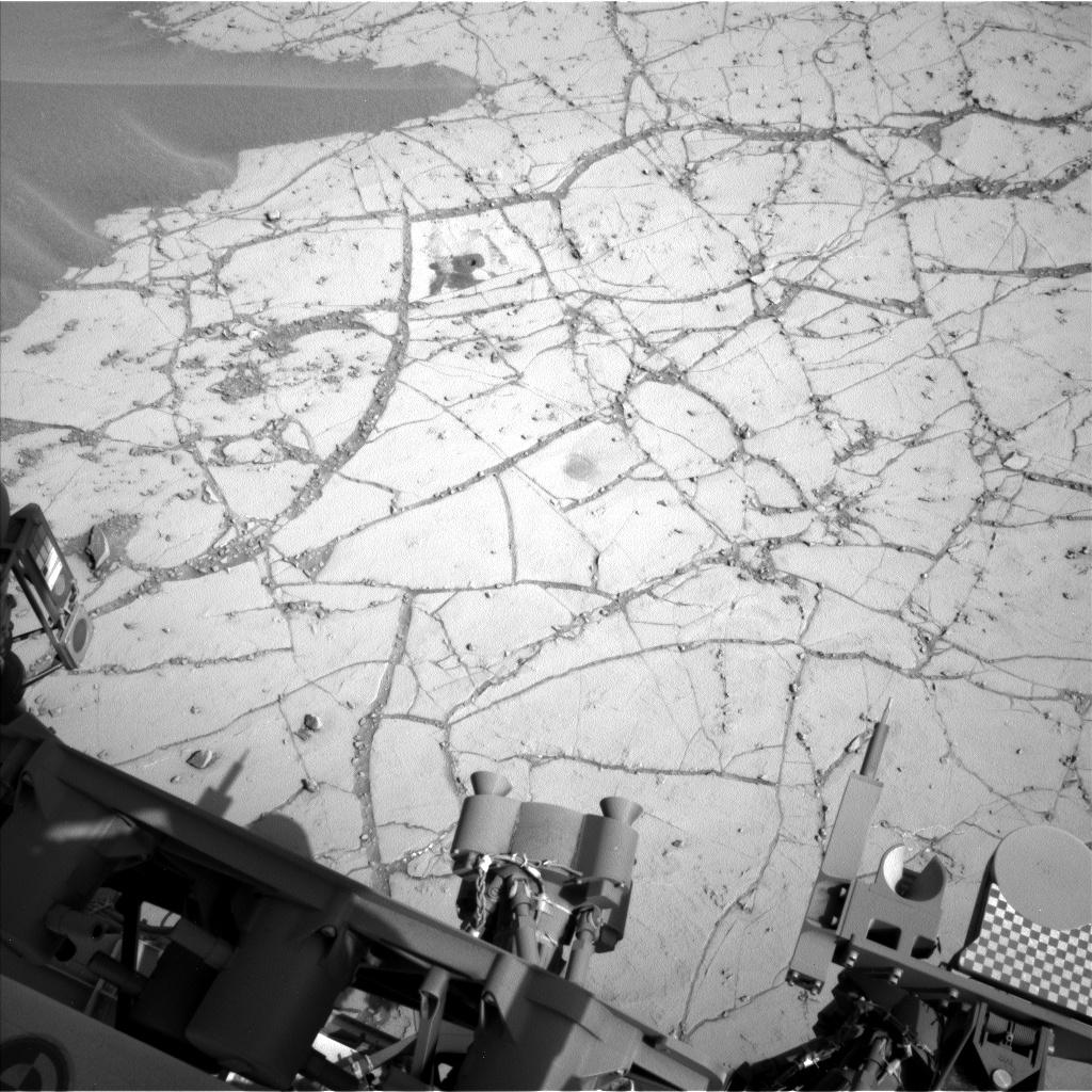 Марсоход curiosity провел мини-бурение марсианской поверхности под названием pahrump hills CVAVR AVR CodeVision cvavr.ru