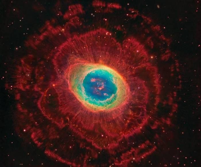 Планетарная туманность M57.