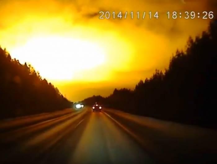 Жители Свердловской области стали свидетелями странного свечения в небе