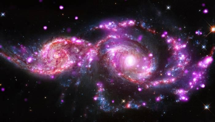Слияние галактик ngc 2207 и ic 2163 CVAVR AVR CodeVision cvavr.ru