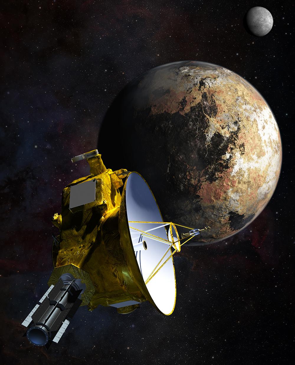 Межпланетная станция Новые горизонты приступает к первой стадии изучения Плутона CVAVR AVR CodeVision cvavr.ru