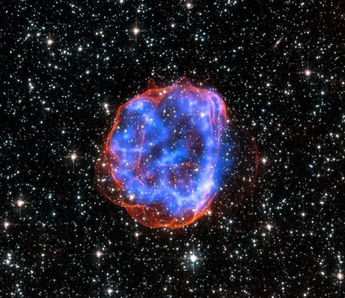 Остаток сверхновой SNR 0519-69.0.