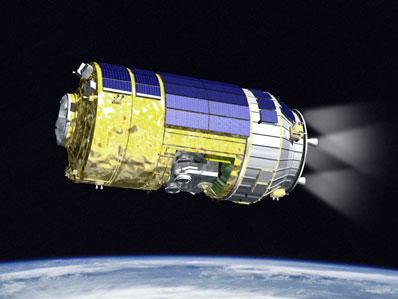 Японский космический корабль HTV сгорит в атмосфере