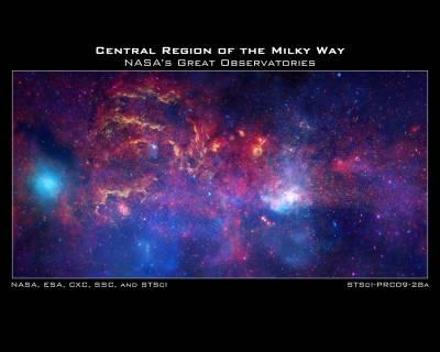 Центр Млечного пути - таким мы его еще не видели